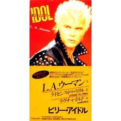 Billy Idol ‎(The Doors) – L.A. Woman - CD Mini Single Japan Edition - Rock Music