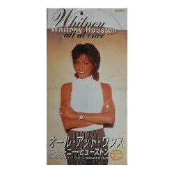 Whitney Houston ‎– All At Once - CD Mini Single Japan Edition - Soul Pop Music