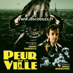Ennio Morricone (Jean Paul Belmondo ) - Peur Sur La Ville - Double LP Vinyl Album - B.O.F. Soundtrack - RSD 2020 August, 29th