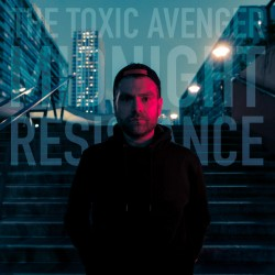 The Toxic Avenger - Midnight Resistance - Double LP Vinyl Coloured Blue Red - Electro SynthWave