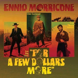 Ennio Morricone - For A Few Dollars More - Vinyl 10 inches - Coloured Yellow - Soundtrack B.O.F. Film Western