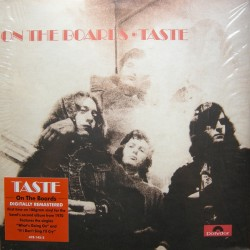Taste (Rory Gallagher) – On The Boards - LP Vinyl Album - Blues Classic Rock