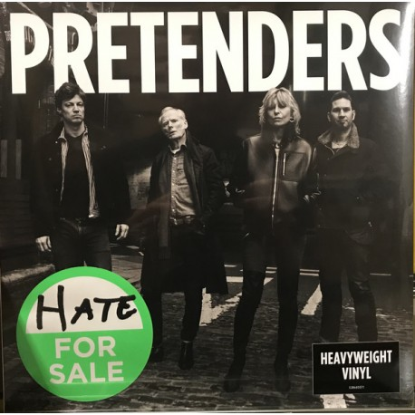Pretenders ‎– Hate For Sale - LP Vinyl Album - Rock Music