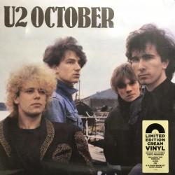 U2 – October - LP Vinyl Album - Gatefold - Coloured Cream Version - Alternative Rock