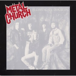 Metal Church ‎– Blessing In Disguise - LP Vinyl Album - 1989 - Heavy Metal