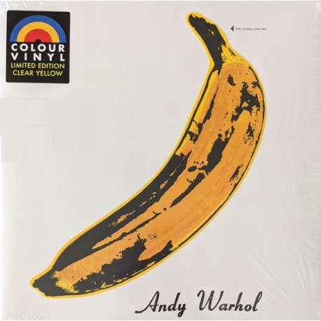The Velvet Underground & Nico - Banana Cover - Limited Edition Coloured Yellow - Psychedelic Rock