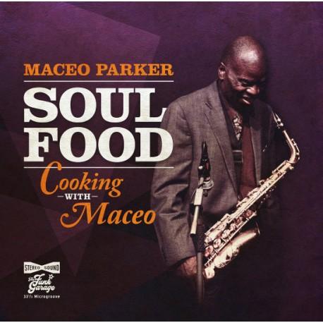 Maceo Parker – Soul Food: Cooking With Maceo - LP Vinyl Album - Coloured Orange - Funk Soul
