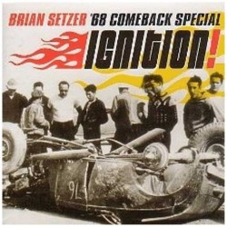 Brian Setzer (Stray Cats), '68 Comeback Special ‎– Ignition - LP Vinyl Album - Coloured - Rockabilly