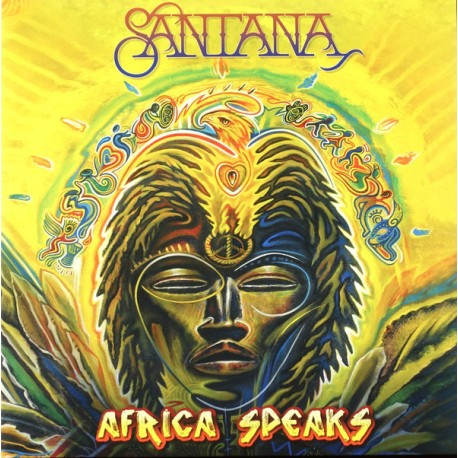 Santana – Africa Speaks - Double LP Vinyl Album - Latin Jazz Rock