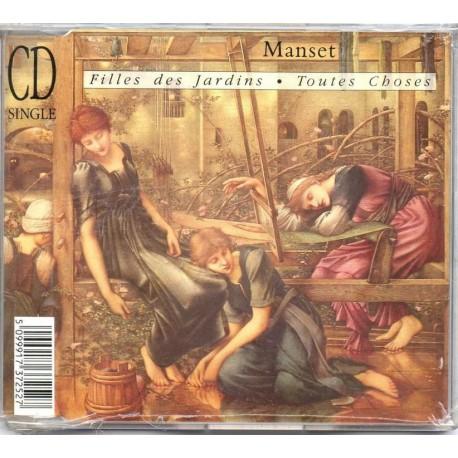 Gérard Manset - Filles Des Jardins / Toutes Choses - CD Maxi Single