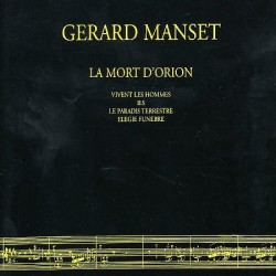 Gérard Manset - La Mort D'Orion - CD Maxi Digipack 5 Tracks
