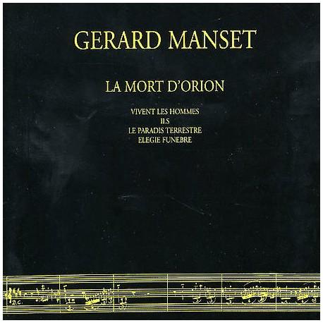 Gérard Manset - La Mort D'Orion - CD Maxi Digipack 5 Tracks