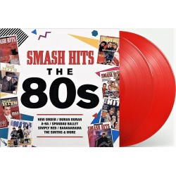 Smash Hits 80s - Compilation - Limited Edition Coloured Red Vinyl - Double LP Vinyl Album - New Wave Pop Music