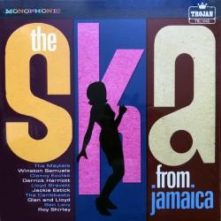 The Ska From Jamaica - Compilation Trojan - LP Vinyl Album - Coloured Gold - RSD 2020 - Reggae Music