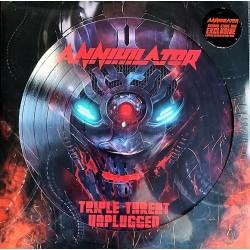 Annihilator – Triple Threat - LP Vinyl Album - Picture Disc - RSD 2020 - Thrash Metal