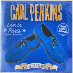 Carl Perkins – Live In Paris - Double LP Vinyl Album - Coloured Blue - RSD 2020 - Rockabilly