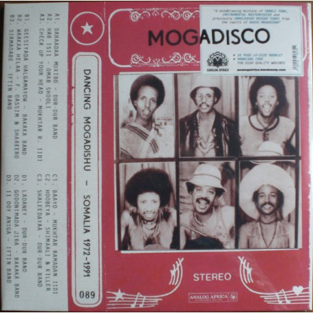 Mogadisco - Dancing Mogadishu - Somalia 1972​-​1991- Compilation - Double LP Vinyl Album - African Music