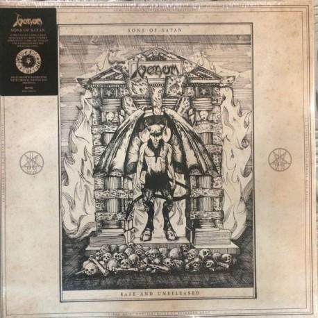 Venom - Sons Of Satan - Rare And Unreleased - Double LP Vinyl Album - Splatter Edition - Heavy Metal