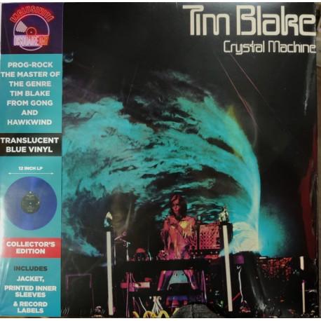 Tim Blake – Crystal Machine - LP Vinyl Album - Coloured Blue - RSD 2020 - Progressive Rock