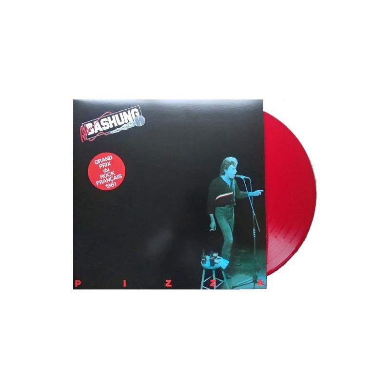 Vinyl Alain Bashung Pizza Album Lp Coloured Red Rock Francais 2019
