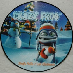Crazy Frog – Jingle Bells / Last Christmas - Maxi Vinyl 12 inches - Picture Disc Edition - Electronic House