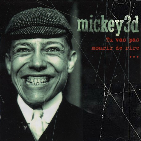 Mickey 3D ‎– Tu Vas Pas Mourir De Rire...  - Double LP Vinyl Album - Coloured Red - Rock Français