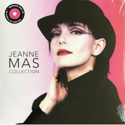 Jeanne Mas ‎– Collection - LP Vinyl Album - Compilation - Coloured Pink - Synth Pop France