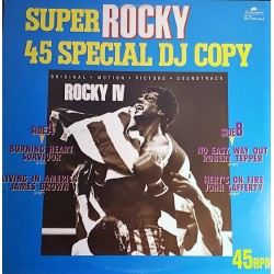 Super Rocky 45 Special DJ Copy - Maxi Vinyl 12 inches - Japan - OST Soundtrack