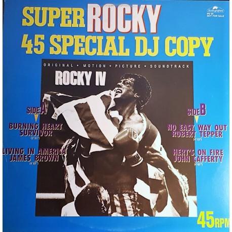 Super Rocky 45 Special DJ Copy - Maxi Vinyl 12 inches - Japan - OST Soundtrack