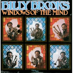 Billy Brooks ‎– Windows Of The Mind - LP Vinyl Album - Jazz Funk Music