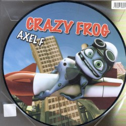 Crazy Frog ‎– Axel F - Maxi Vinyl Part 1 & 2 - 12 inches - Picture Disc - Euro House Music