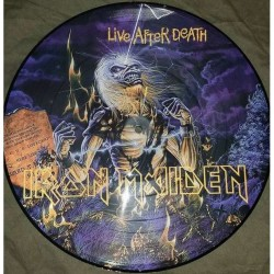 Iron Maiden ‎– Live After Death - LP Vinyl Album - Picture Disc - Heavy Metal