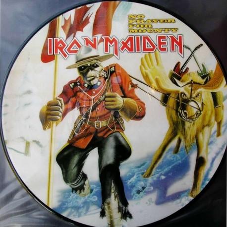 Iron Maiden – No Prayer For Mounty - LP Vinyl Album - Picture Disc - Heavy Metal