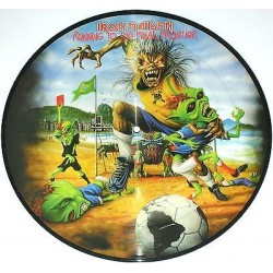 Iron Maiden ‎– Running To The Final Frontier - LP Vinyl Album - Picture Disc - Heavy Metal