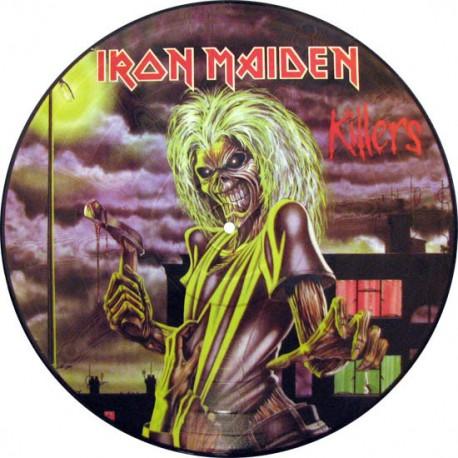 Iron Maiden – Killers - LP Vinyl Album - Picture Disc - Heavy Metal