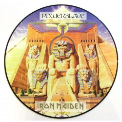 Iron Maiden ‎– Powerslave - LP Vinyl Album - Picture Disc - Heavy Metal