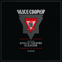 Alice Cooper - Live from the Apollo Theatre Glasgow Feb 19.1982 - Double LP Vinyl Album - Rock Music - Record Store Day 2020