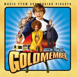 Austin Powers in Goldmember - LP Vinyl Album - Coloured Gold - Record Store Day - OST Soundtrack