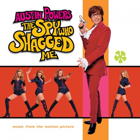 Austin Powers - The Spy Who Shagged Me Soundtrack - LP Vinyl Album - Coloured Clear - Record Store Day 2020 - Soundtrack