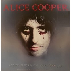 Alice Cooper - Alone In His Nightmare Live 1975 - LP Vinyl Album - Rock Music