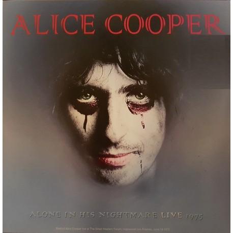 Alice Cooper - Alone In His Nightmare Live 1975 - LP Vinyl Album - Rock Music