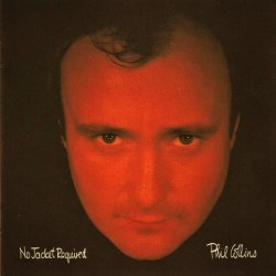 Phil Collins (Genesis) – No Jacket Required - LP Vinyl Album - Coloured Orange - 35th Anniversary - Rock Music