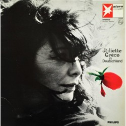 Juliette Gréco ‎– In Deutschland - LP Vinyl Album - French Songs
