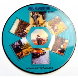 Bob Marley & The Wailers ‎– Soul Revolution Part II - LP Vinyl Album Picture Disc - Reggae Music