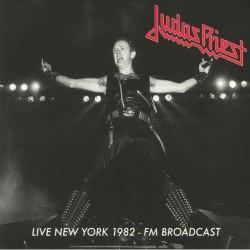 Judas Priest - Live New York 1982 FM Broadcast - Double LP Vinyl Album - Heavy Metal