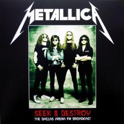 Metallica – Seek & Destroy - The Dallas Arena FM Broadcast Vol 2 - LP Vinyl Album - Heavy Metal