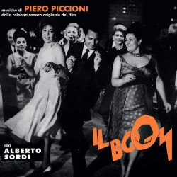 Piero Piccioni – Il Boom - LP Vinyl Album - OST Soundtrack