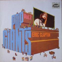 Eric Clapton - Pop Giants, Vol. 7 - LP Vinyl Album - Blues Rock