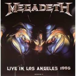 Megadeth – Live In Los Angeles 1995 - LP Vinyl Album - Coloured - Thrash Metal