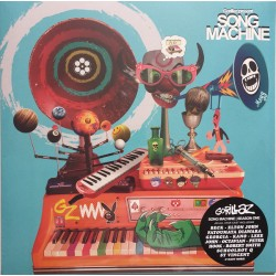 Gorillaz – Song Machine Season One - LP Vinyl Album - Electro Dance Pop